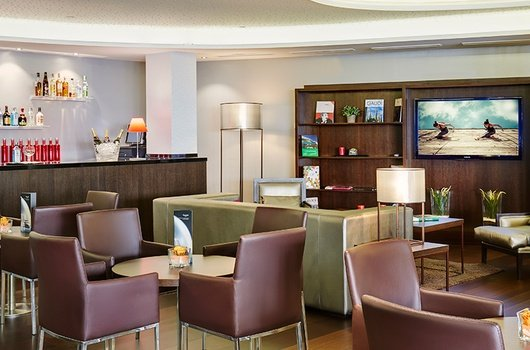 Enjoy a drink in the Social Lounge at the Sercotel ...
