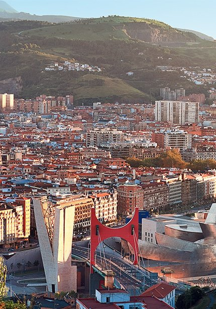Check out our getaways offers to Bilbao.