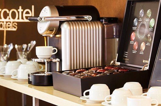 Coffee corner - hotel courtesy for all the guests (from 12 ...